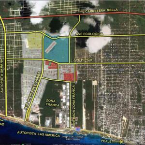 518,000 m2 entre Santo Domingo y el Aeropuerto Las Américas